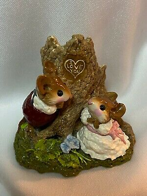 Wee Forest Folk Retired Hearts and Flowers