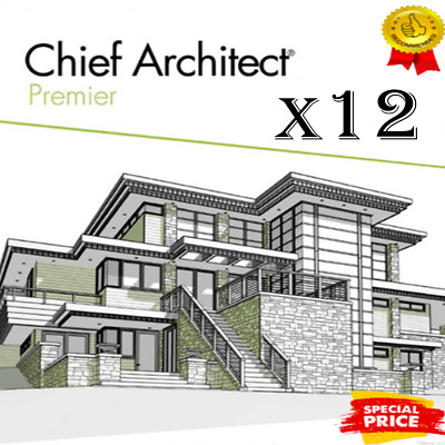 Chief Architect Premier X12   2020 Version   Life time License🔥5s Delivery 🔥