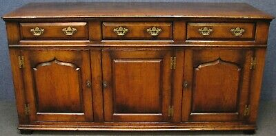 Titchmarsh And Goodwin Period Style Solid Oak Dresser Base Sideboard