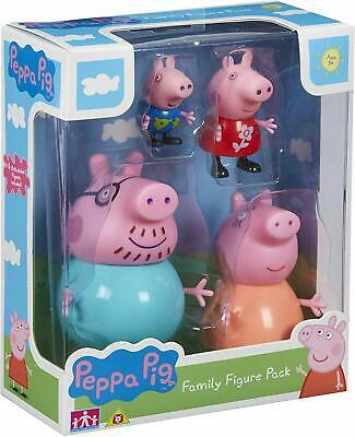 Peppa Pig Small Figures Family Pack Mummy Daddy Peppa George Boys Girls Fun Toys