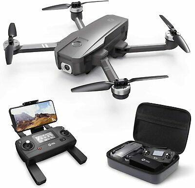 Holy Stone HS720 5G WIFI FPV RC Drone 4K Camera Brushless GPS Quadcopter +CASE