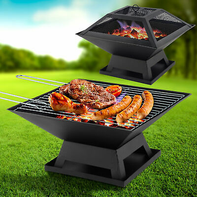 BBQ Grill | Fire Pit | Garden Heater| Great for Camping Outdoor Firepit Patio
