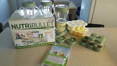 Baby Nutribullet Food Processor Blender BNIB