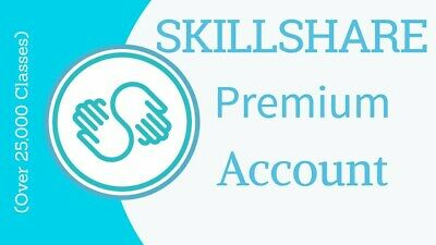 Skillshare Premium Subscription Account 6 Months Warranty Online Delivery