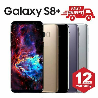 Samsung Galaxy S8 Plus 64GB Unlocked Android Mobile Phone Grade A Various Colors