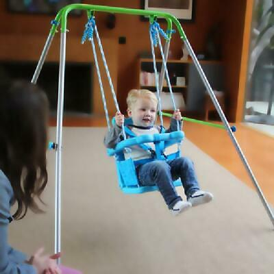 New Swing Set Rocker  Indoor/Outdoor Safety Harness Sportspower Toddler Fun Play