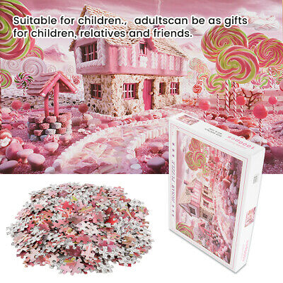 Kids Adult Puzzle 1000 Pieces Paper Jigsaw Decompression Game Toys Gifts Home