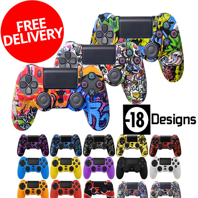 Protective Cover Case for Sony PlayStation Gamepad PS4 Controller Joystick Skins