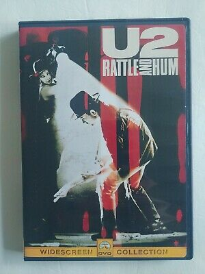 U2 - Rattle and Hum (DVD, 1999, Widescreen)