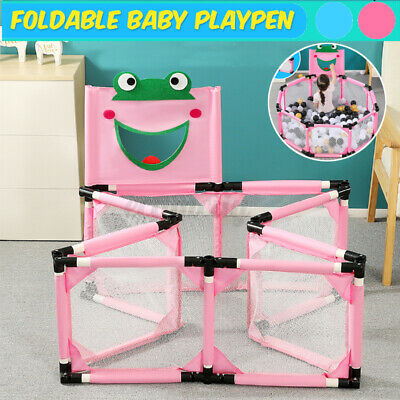 39''x15.5'' Baby Playpen Kids Play Center Safety Home Pen Fence  Yard Outdoor US