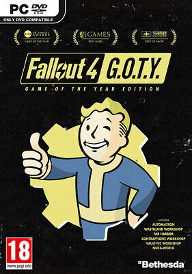 Fallout 4 - Game of the Year Edition (PC)  BRAND NEW AND SEALED - QUICK DISPATCH