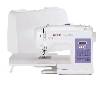Singer 5560 Fashion Mate Sewing Machine with Dust Cover And Foot Pedal