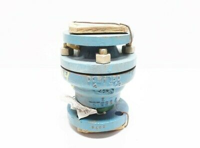 Dow 060-8521 150 Steel Flanged 2in Pvdc Vertical Check Valve