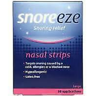 Snoreeze Nasal Strips - Snoring with Congestion Large - 10 Applications