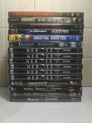 16 DVD's Lot Mixed