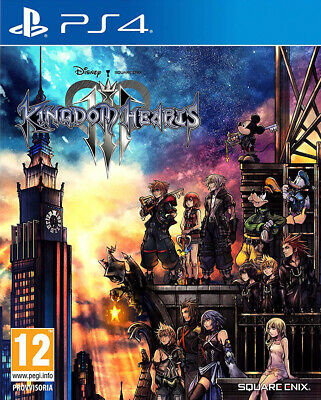 PS4 Kingdom Hearts 3 - NUOVO SIGILLATO
