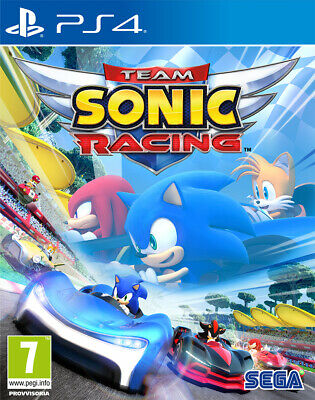 PS4 Team Sonic Racing  - NUOVO SIGILLATO