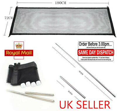✧UK Top Retractable Pet Dog Gate Safety Guard Folding Baby Stair Gate Isolation✧