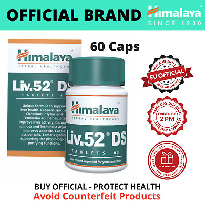 Liv.52 DS Tablets 60 | BUY DIRECTLY FROM BRAND | MAX EXPIRY + Free eBook