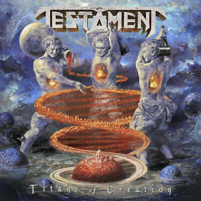 TESTAMENT - Titans Of Creation - CD