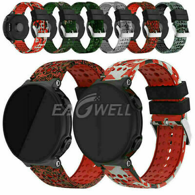 For Garmin Forerunner220 230 235 620 630 735XT Printed Silicone Watch Band Strap