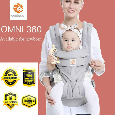 New Baby Carrier Omni-360 With Air Mesh For Maximum Comfort For You And The Baby