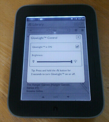 Barnes & Noble Nook Simple Touch with Glowlight BNRV350, 2GB, Wi-Fi, 6in - Black