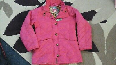 Girls Joules Coat Age 7 Years.