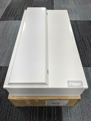 Hager 20 Way 100A Switch Disconnector Incomer Metal Consumer Unit VML120