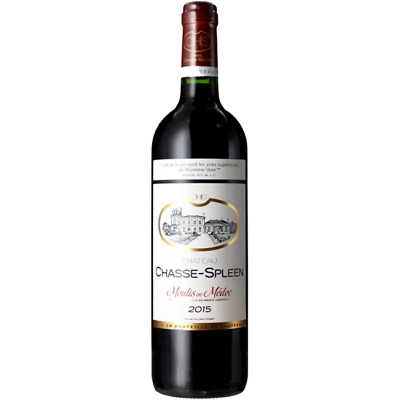 Château Chasse Spleen 2015 Moulis  Millesime Exceptionnel !!!