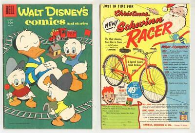WALT DISNEY COMICS AND STORIE n. 183 Dell 1956