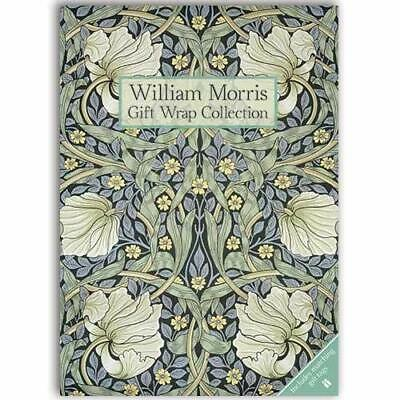 William Morris - Pimpernel Gift Wrap Collection Book The Fast Free Shipping
