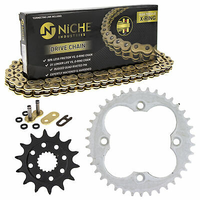 Sprocket Chain Set for Honda Sportrax 450 TRX450R 14/38 Tooth 520 X-Ring Kit