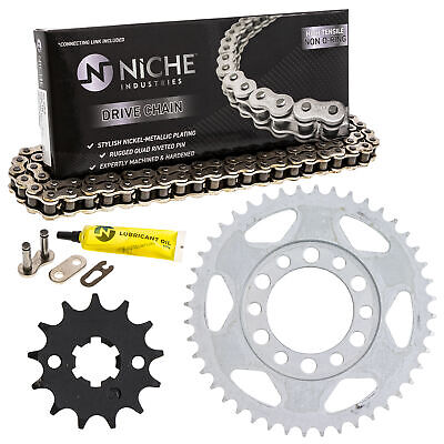 Sprocket Chain Set for Yamaha YZ80 13/44 Tooth 428 Rear Front Kit Combo