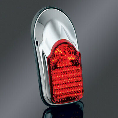 Kuryakyn Universal Low-Profile Tombstone Taillight 4990 49-7038 2010-0083 4990
