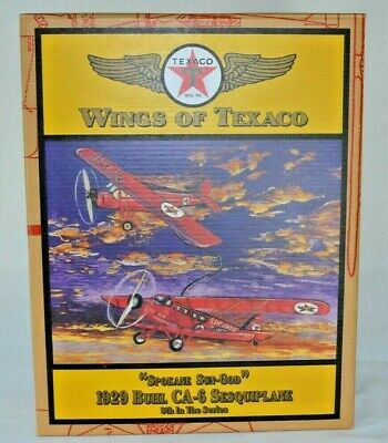 Wings Of Texaco 1929 BUHL CA-6 Sesquiplane #9 in Series