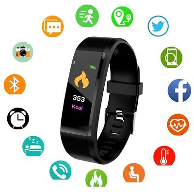 Smart Watch Fitness Activity Tracker Step Fit Bluetooth Sport Android i Phone