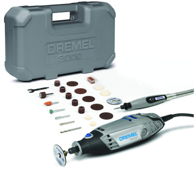 Dremel 3000 Rotary Tool and Multi-Tool Kit with 1 Attachment 25 Accessories,  Sp