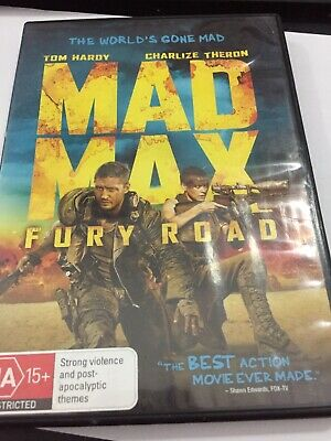 Mad Max - Fury Road DVD tomhardy charlizetheron great action