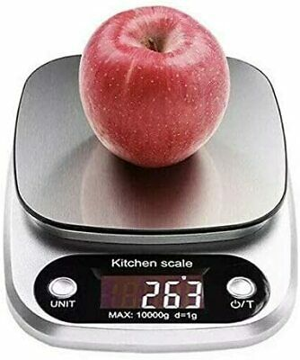 Kitchen Food Scale for Cooking Baking Diets, 22lbs Capacity(10kg x1g)
