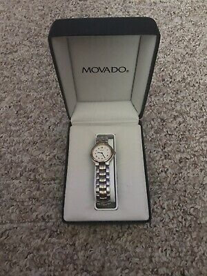 MOVADO Ladies Watch with Box & Papers 602604