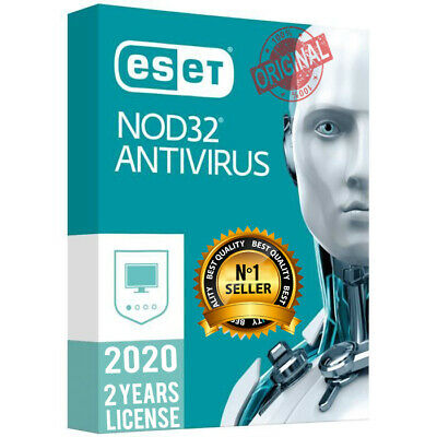 Eset Nod32 Antivirus Last Version🔥 2 Years 🔥 1 Pc 🔥 Genuine Activation Key