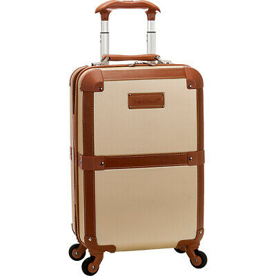 """Rockland Luggage Stage Coach 20"""" Rolling Trunk Hardside Carry-On NEW"""