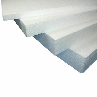 EPS White Expanded Polystyrene Poly Foam Board Sheets External Wall Insulation