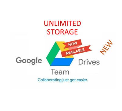 Unlimited Google Drive Storage/ Cloud Drive (For Your Existing Gmail or G Suite)