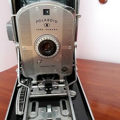 Vintage Polaroid Land camera model 95A for decoration or for parts