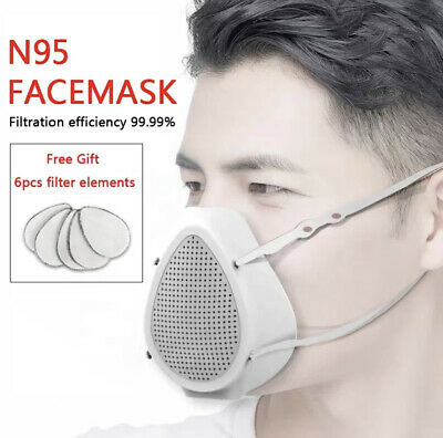 Electric Mask Mouth PM 2.5 Anti Formaldehyde Face Breathable-Valve Cover Masks