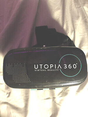 Utopia 360° Virtual Reality VR Headset with Bluetooth Controller