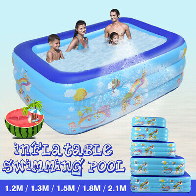 Child Family Swimming Pool Garden Outdoor Summer Inflatable Kids Paddling Pools