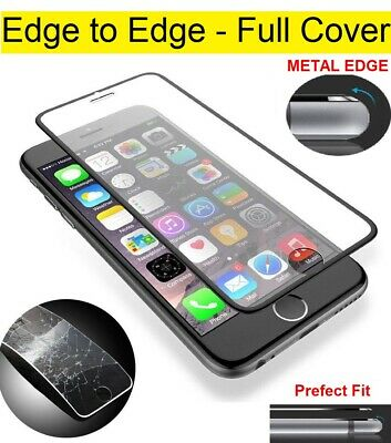 For iPhone 6 6s 7 8 Plus SE 2 2020 Genuine Metal Tempered Glass Screen Protector